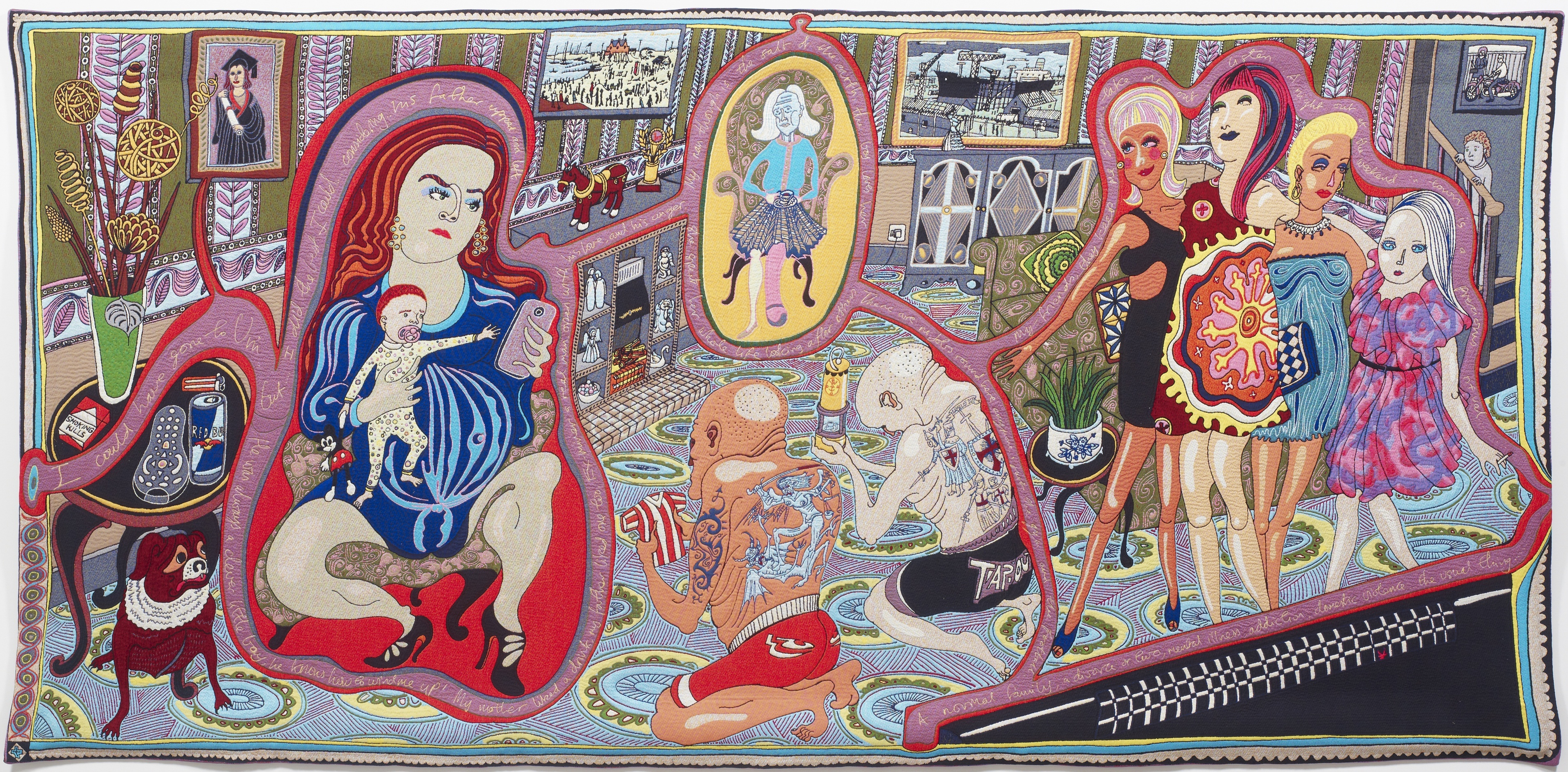 Grayson Perry The Vanity Of Small Differences Events At The Victoria Art Gallery