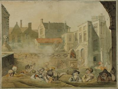 Image: The King's Bath, John Nixon, 1800