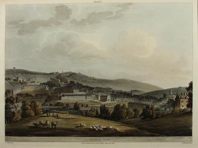 Image:  A General View, By John Claude Nattes, 1805