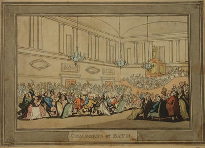Image: Ball at the Upper Assembly, By Thomas Rowlandson, around 1798