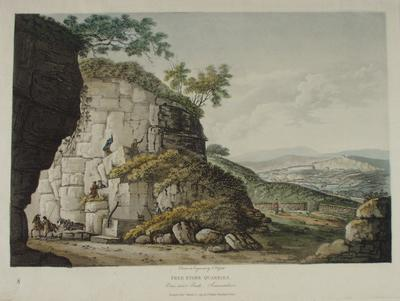 Image: Free Stone Quarries, By John Hassell, 1798