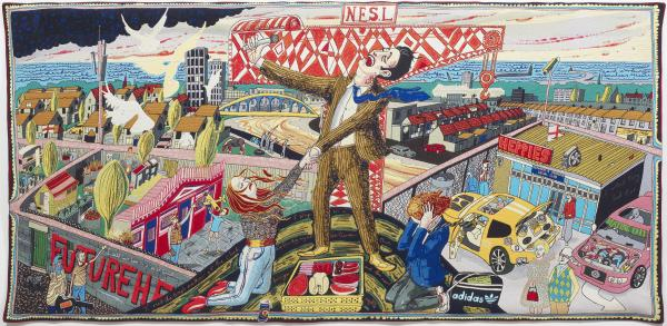 Image: Grayson Perry, The Agony in the Car Park