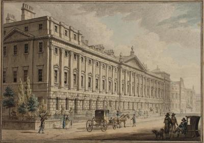 Image: Queen Square, the North Terrace, By William Watts, 1819