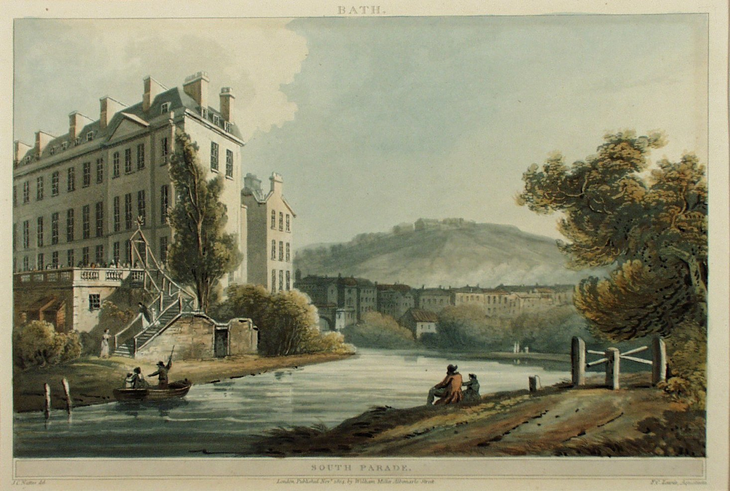 Image: South Parade, John Claude Nattes, 1804