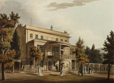 Image: Sydney Gardens, By John Claude Nattes, 1805