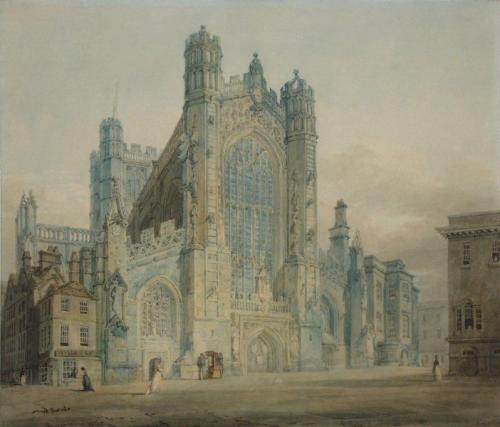 Joseph Mallord William Turner, Bath Abbey