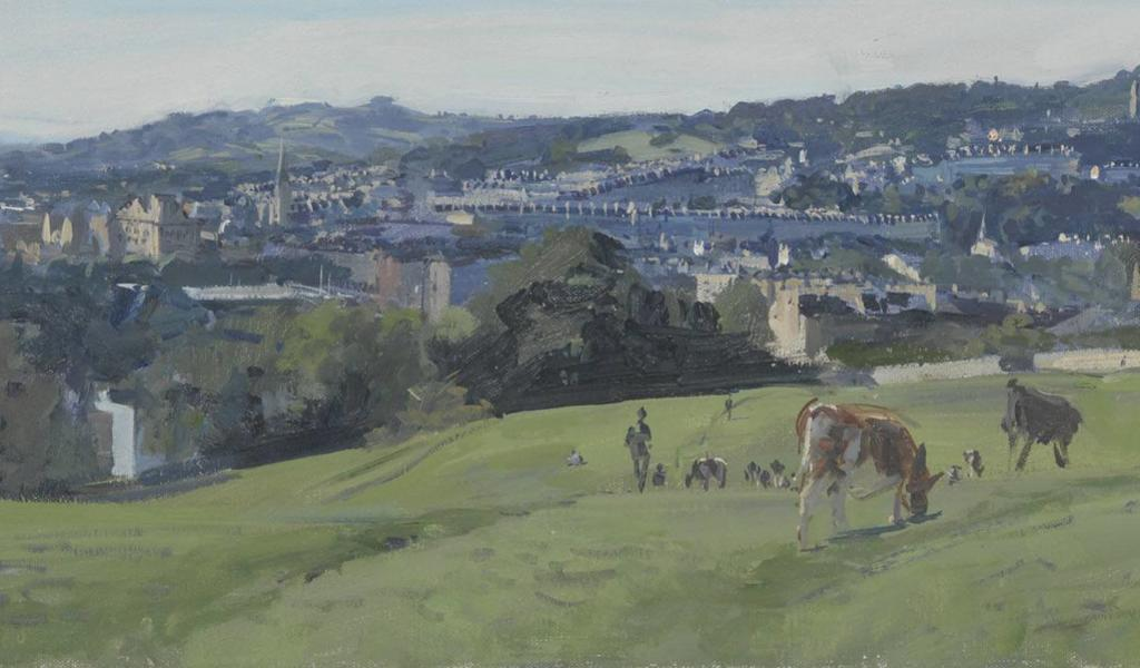 Image: September afternoon, Bathwick Fields, 2015, Peter Brown
