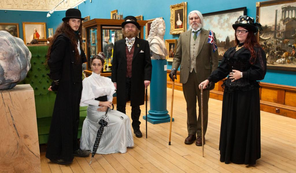 Image: A Victorian event at the Gallery