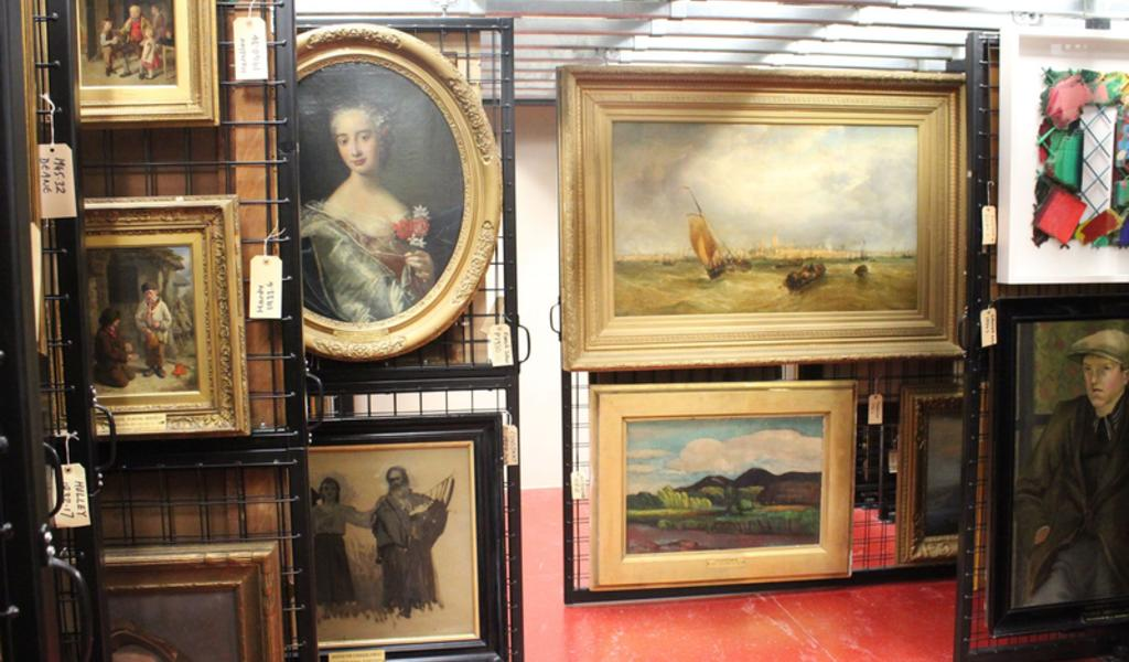 Image: Art collection at the Gallery