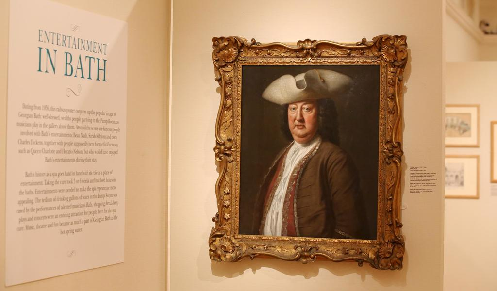 Image: Entertainment in Bath exhibition