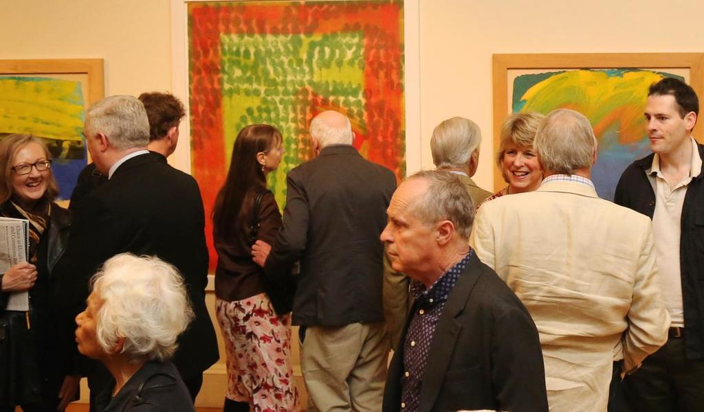 Image: A group visiting the Gallery