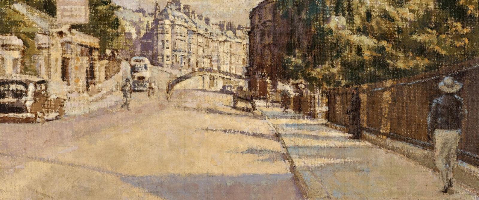 Image: London Street by Walter Sickert