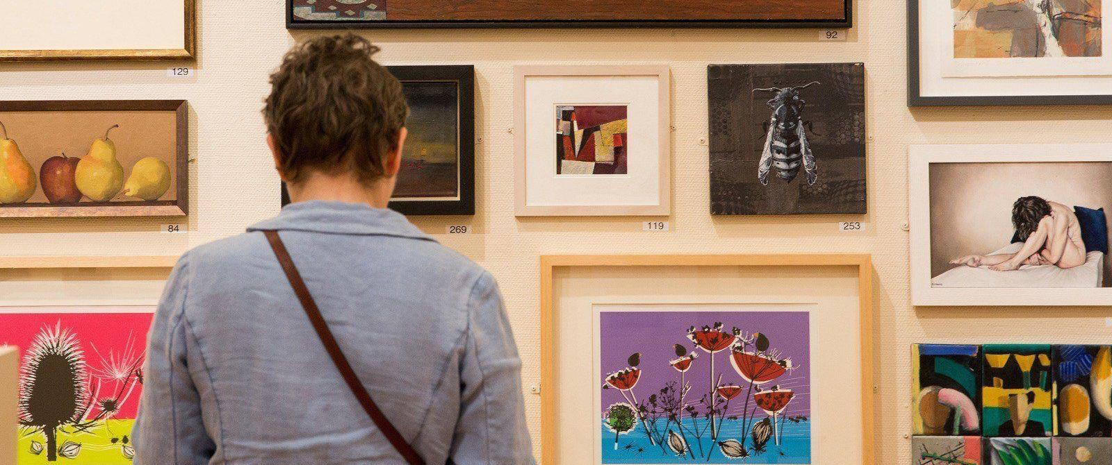 Image: Bath Society of Artists Exhibition at the Victoria Art Gallery