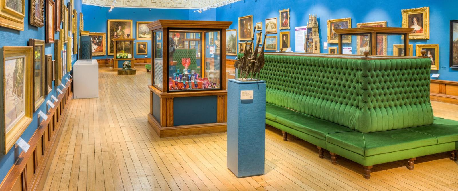 Image: Permanent collection at Victoria Art Gallery