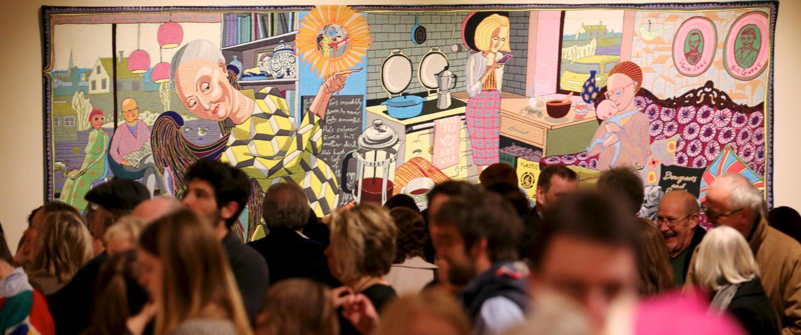 Image: Grayson Perry exhibition at the Victoria Art Gallery