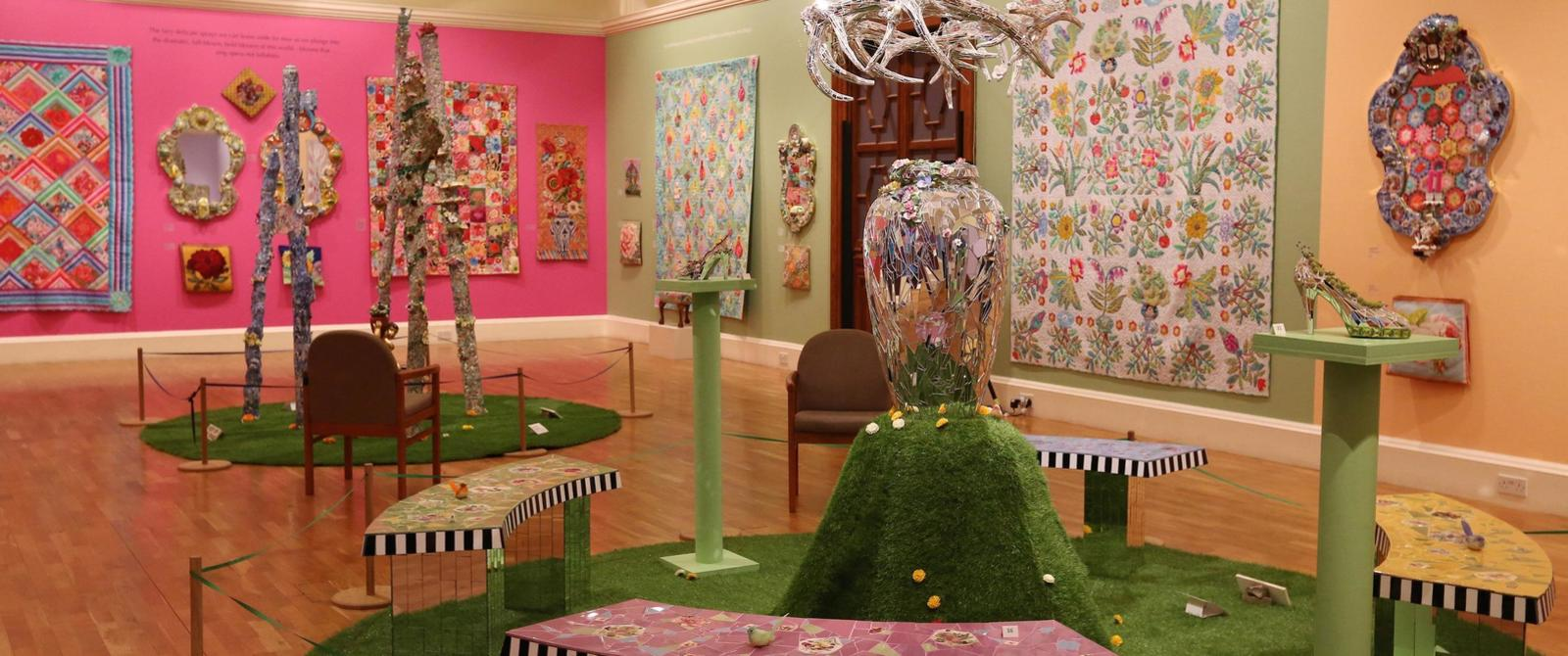 Image: A Celebration of Flowers exhibition