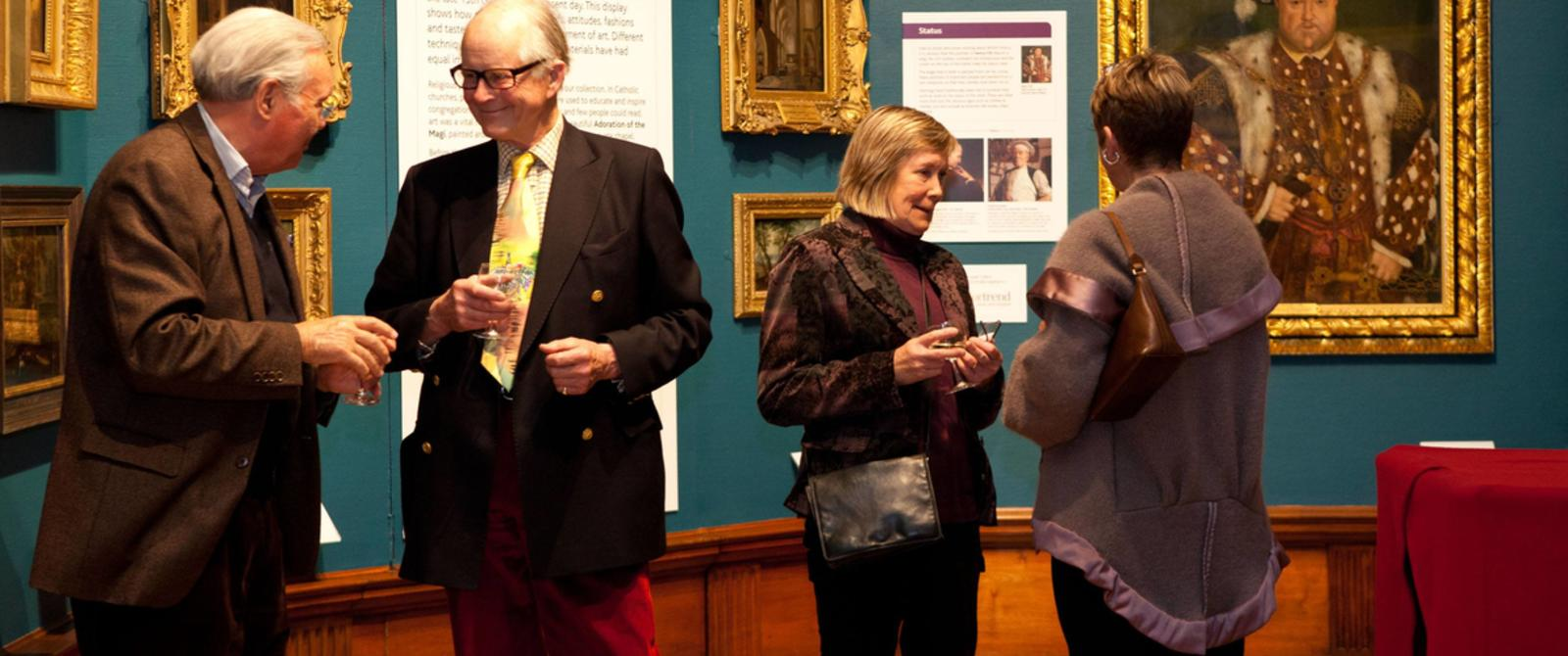 Image: Friends event at the Gallery