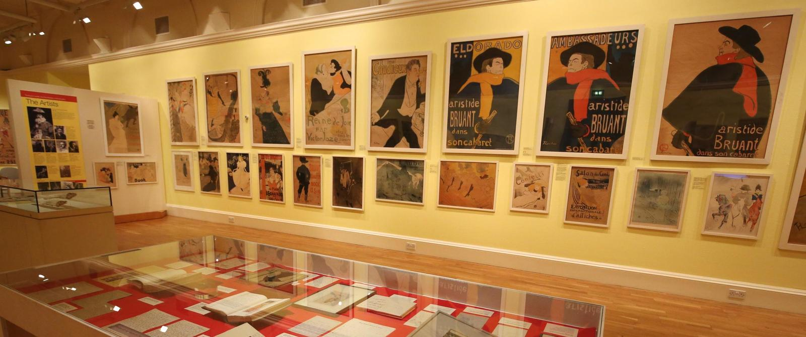 Image: Toulouse Lautrec and the Masters of Montmartre exhibition