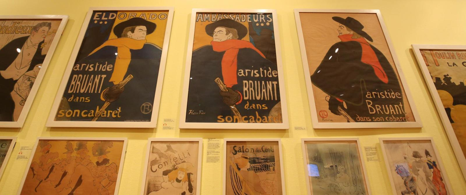 Image: Toulouse-Lautrec and the Masters of Montmartre exhibition
