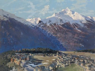Image: 100 Morning Aussois, French Alps