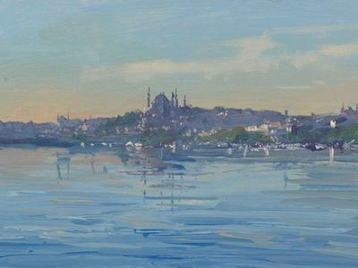 Image: 104 Early morning, The Golden Horn, Istanbul