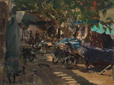 Image: 117 Cooking Fish Stew in the Warm Shade, Hôi An, Vietnam