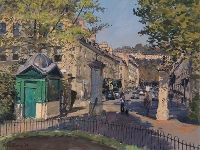 Image: 035 The Old Ticket Office and Bathwick Street from Sydney Gardens