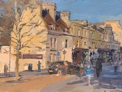 Image: 038 Late Afternoon, Widcombe Parade