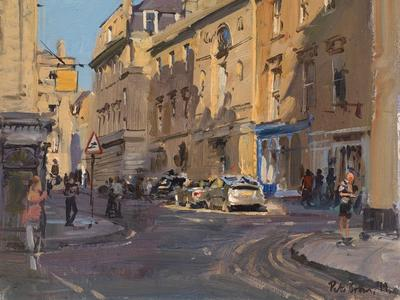Image: 064 Quiet Street, Early August Evening