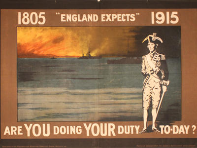 Image: 1805 England expects 1915, 1915