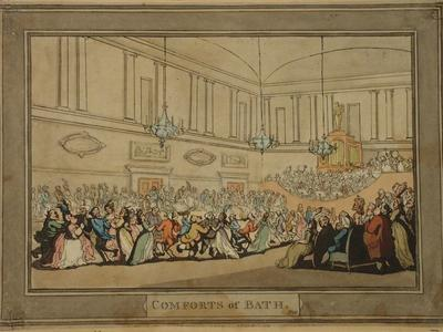Image: Ball at the Upper Assembly, Thomas Rowlandson, around 1798