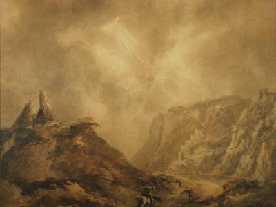 Image: Barker Benjamin, 'The Storm', 18th-19th century