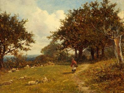 Image: Bates David Colwell, 'near Malvern', oil on canvas