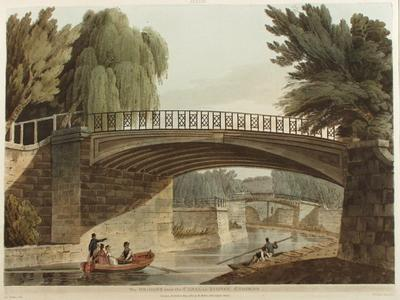Image: Bridge over the Canal in Sydney Gardens, John Claude Nattes, 1805
