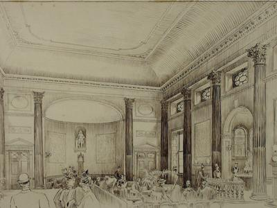 Image: Davison Thomas Raffles, 'The Pump Room', 19th century. Adopted by Mrs Christine Moorshead in memory of her husband Barry