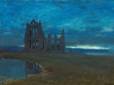 Image: Goodwin Albert, 'Whitby Abbey', oil on canvas, 1910. Adopted by Mr Peter Meagher