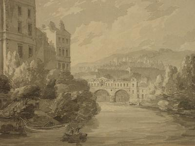 Image: Hearne Thomas, 'South East View of the City of Bath', print, 1792. Adopted by Mr & Mrs Glass (F)