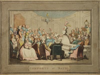 Image: In the Concert Room, Thomas Rowlandson, 1798