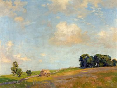 Image: Jenkins Arthur Henry, 'Claverton Down, Bath', oil on canvas, early 20th century