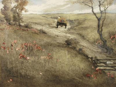 Image: Jennings Campell Nesta, 'Across the Mendips', pastel and gouache, 20th century. Adopted by the Rearden family