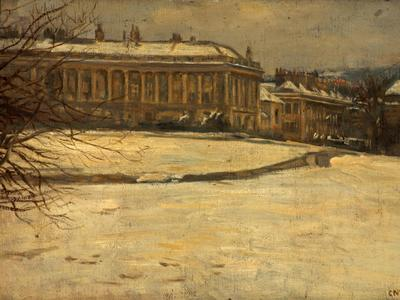 Image: Knight Charles Neil, 'Crescent', Bath. Oil on canvas. Adopted by Michael Rowe (F)