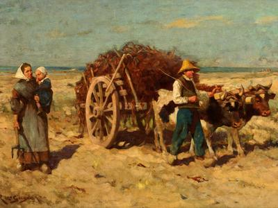 Image: McGregor Robert, 'Goemon: Breton seaweed gatherers'. Oil on canvas, c.1900. Adopted by Geraldine & John Lindley, Mr Labus & Gillian Minter (F)