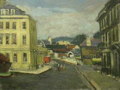 Image: Methuen Paul Aysgford, 'Catherine Place', Bath. Oil on canvas. Adopted by a private individual (F)