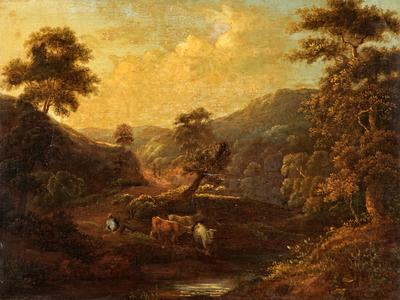 Image: Palmer Edith, 'Landscape', oil on canvas