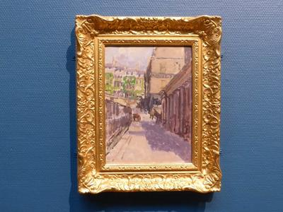 Image: Assembly Rooms, Walter Sickert. Conservation of frame