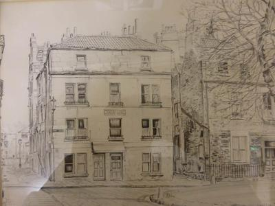 Image: Michael Rowe gift, L. Griffin, Abbey Green before conservation, 1951