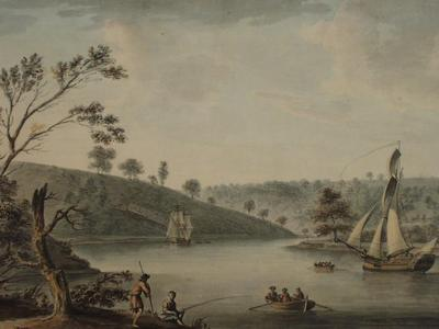 Image: Pocock Nicholas, 'The Avon near Bristol', watercolour, late 18th-early 19th century. Adopted by the Norie Trust