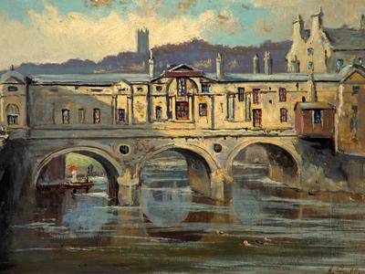 Image: Fullylove John, 'Pulteney Bridge, Bath'. Adopted by Jill Brown for her mother Christine Milne's birthday