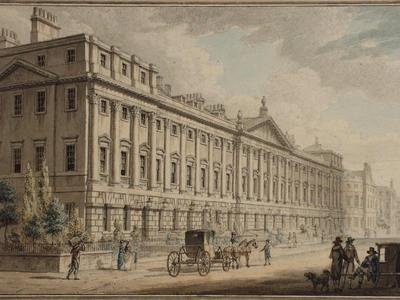 Image: Queen Square, the North Terrace, William Watts, 1819