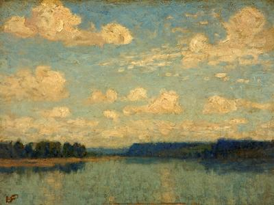 Image: Rosenberg Gertrude Mary, 'Landscape', oil on canvas, early 20th century